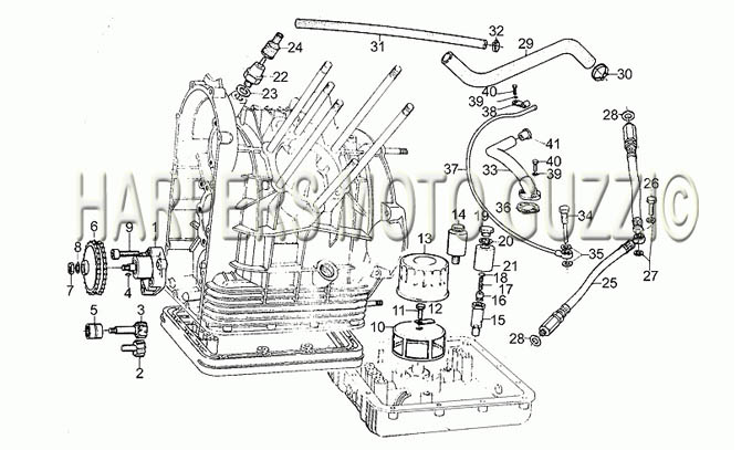 Parts Lookup 198089 Moto Guzzis Le Mans III 850 19811984 – Diagram Of Moto Guzzi Engine